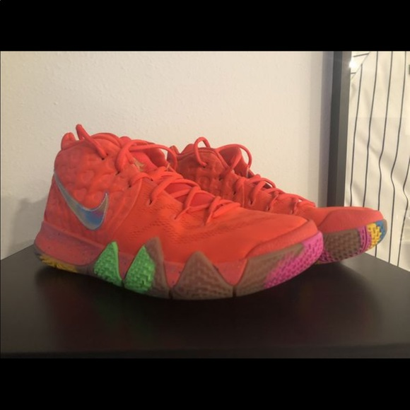 brand new ffb86 32ee1 Used Nike Kyrie 4 Lucky Charms Size 10